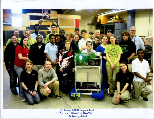 Gateway STEM HS Robotics Photo 2013